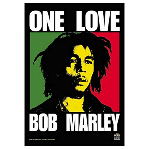 Bob Marley One Love Tapestry Cloth Poster Flag Wall Banner 30