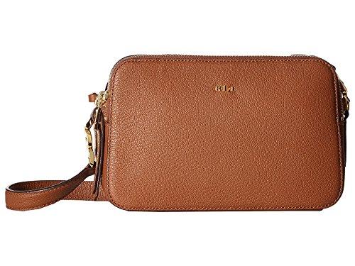 LAUREN Ralph Lauren Women's Rawson Celeste Medium Crossbody Brown One - Ralph Brown Lauren Bag