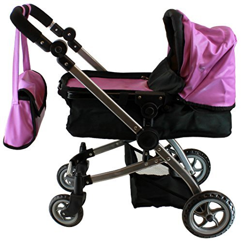 Adjustable Handle Doll Stroller - 7