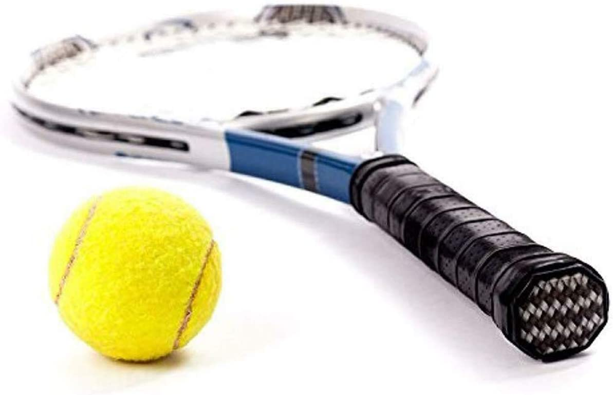 4Pcs Badminton Hold Nonslip Replacement Grasp Tennis Racquet Fishing Rod Shake Hands Black and Royal Blue Racket Grip