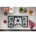 "GE Cafe CGP650SETSS 36"" Built-in Gas Cooktop"