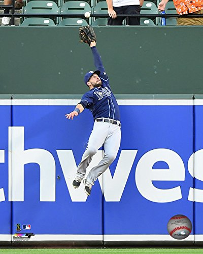 Kevin Kiermaier Tampa Bay Rays MLB Action Photo (Size: 8