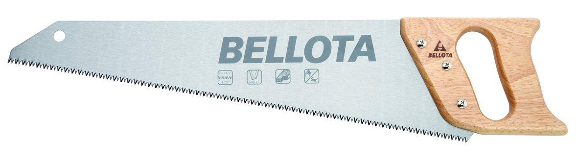 Bellota 4551-22 Scie de charpentier denture japonaise Manche en bois 550 mm