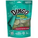 Dingo Dental Mintz Chews For Dogs, Mint Dog Treats