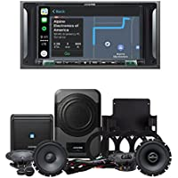 Alpine i207-WRA 7 CarPlay & Android Auto Receiver & PSS-20WRA Full 2007-2014 Jeep Wrangler Unlimited System Upgrade