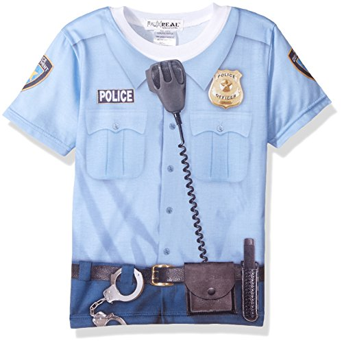 Toddler: Policeman Costume Tee (Front/Back) Baby T-Shirt Size 2T -