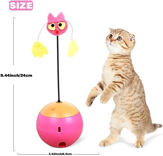 jouet pour chat une souris sort alternativement