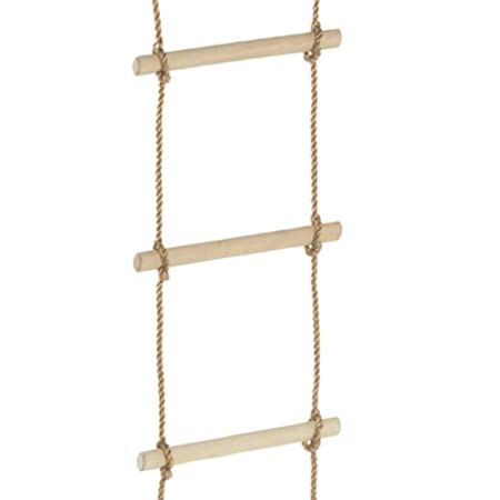 Wickey Rope Ladder 10 Rungs Heavy Climbing Ladder