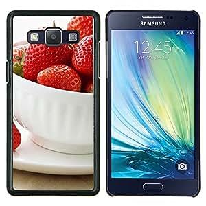 LECELL--Funda protectora / Cubierta / Piel For Samsung Galaxy A5 A5000 -- Naturaleza Hermosa Forrest Verde 57 --