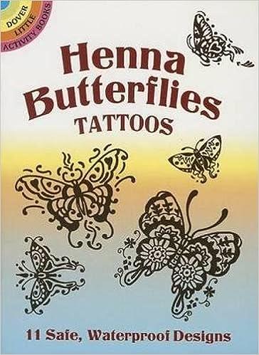 Henna Butterflies Tattoos Dover Tattoos Anna Pomaska