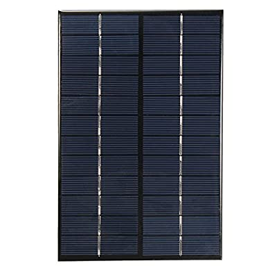 NUZAMAS 4.2W 12V 350ma Mini Solar Panel Module Solar System Cell Outdoor Camping Battery Charger DIY Parts 130mm X 200mm : Garden & Outdoor
