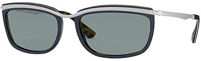 Persol 0PO3229S Gafas de sol, Silver, 60 para Hombre: Amazon ...