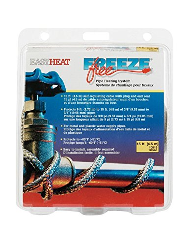 (Freeze Free Pipe Heating System 15 ', 30
