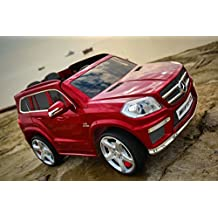 LICENSED MERCEDES GL63 AMG ELECTRIC RIDE ON CAR FOR KIDS WITH REMOTE CONTROL 12V WINE RED