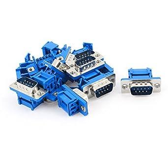 eDealMax mm placa PCB 2, 54 2 Fila 8-Pin Dip Solder Tipo IC del adaptador del zócalo 10 Piezas: Amazon.com: Industrial & Scientific