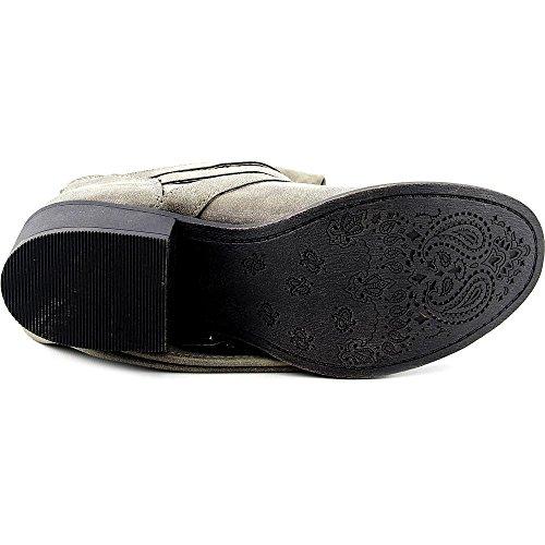 887865269212 - Madden Girl Women's Dakotaaa Motorcycle Boot, Stone, 6 M US carousel main 1