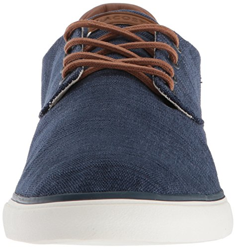 Tan Navy Lacoste Esparre Men's Canvas Sneaker tIxR4q