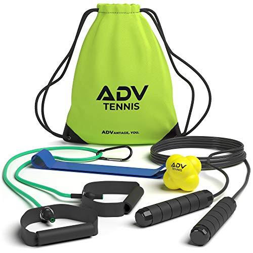 Equipo de fitness específicamente para jugadores de tenis