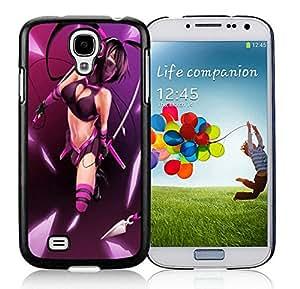 Fashion Custom Designed Purple Ninja Samsung Galaxy S4 I9500 Black Phone Case CR-509