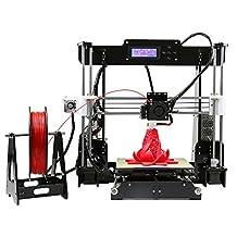 Anet A8 3D Desktop DIY Impresora RepRap i3 Alta Precisión Auto Ensamble con Calor