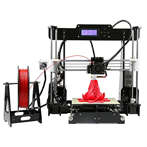 MagicD High Performance Auto Level A8 3D Printer DIY Kit , Classic A8 3D Printer , Desktop 3D Printer With Auto Level . Print PLA , ABS Filament , Easy To Assemble. MagicD