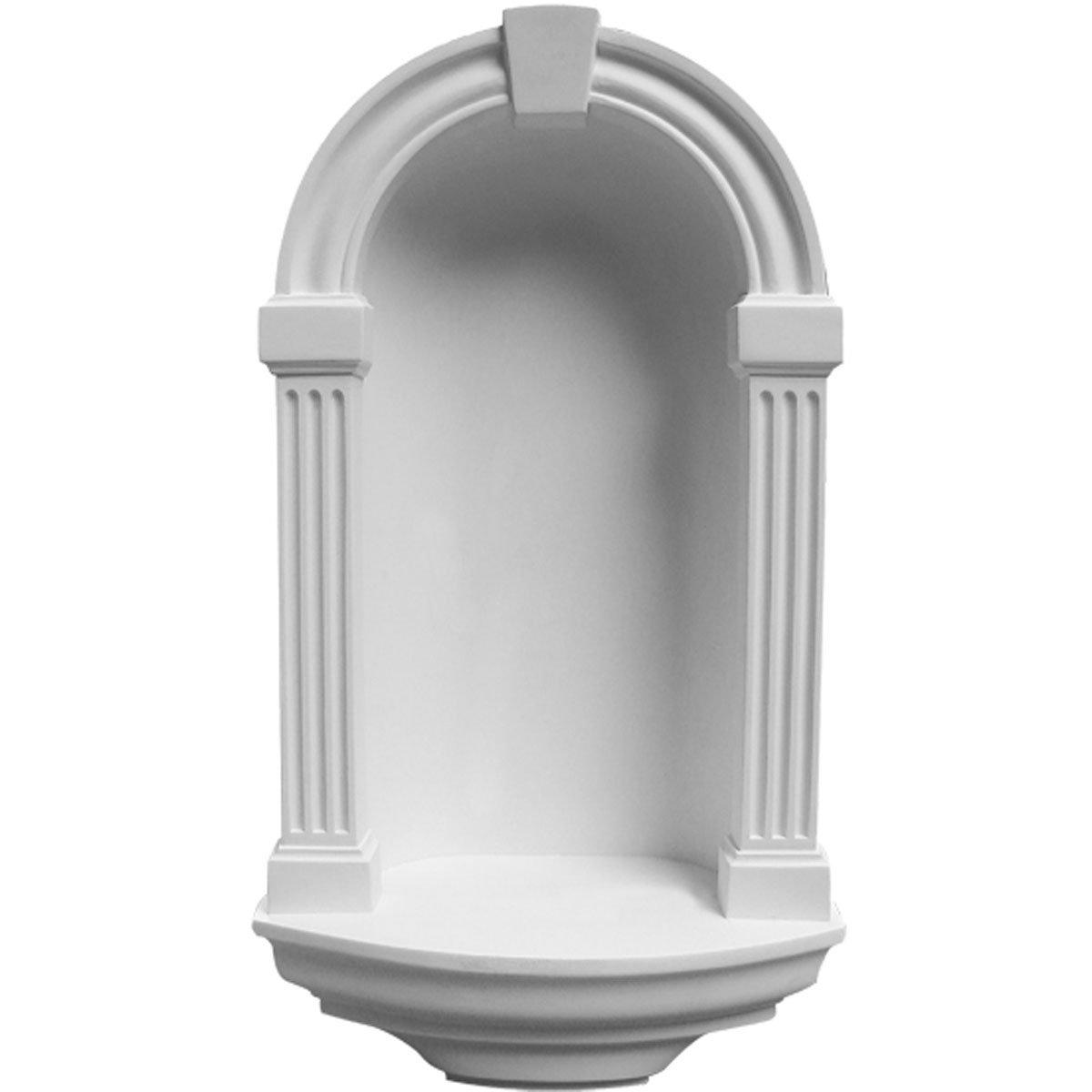 Ekena Millwork NCH16X30AL Wall Niche, Factory Primed White by Ekena Millwork