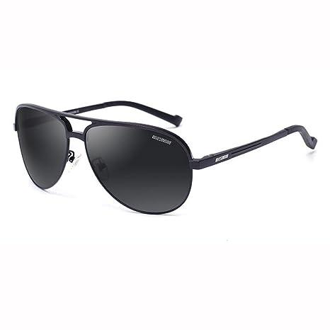 ZX Moda Hombre/Sra. Luz Polarizada Gafas De Sol Metal Piloto ...