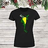 Michigan J Frog 10 Women's Tee|Shirt Black