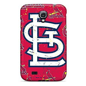 For Galaxy S4 Tpu Phone Case Cover(st. Louis Cardinals)