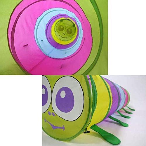 Kruip door speeltunnel speelgoed, pop-up tunnel voor kinderen peuters baby's baby's kinderen en honden, binnen buiten buis