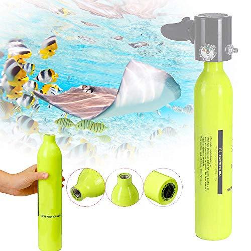 Spare Scuba Air Tank,Farway 0.5L Oxygen Underwater Mini Cylinder Breathing Bottle Diving - Scuba Tank Mini