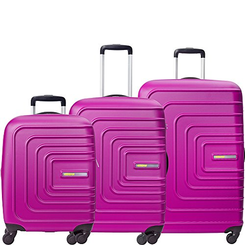 American Tourister Sunset Cruise 3pc Hardside Expandable Spinner Luggage Set- (3 Tourister Piece American)