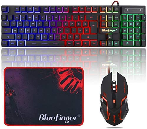 Gaming Keyboard Backlit BlueFinger Computer product image