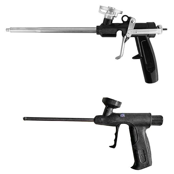 Pistola de Espuma/Pistola Surtidora de Espuma,Expanding Foam Pistola de Calafateo,Rojo: Amazon.es: Bricolaje y herramientas