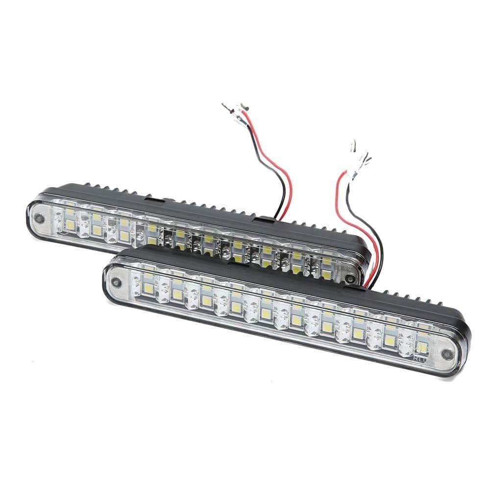 Motoeye Luces de circulaci/ón diurna 12 V, luz DRL, con ECE R87