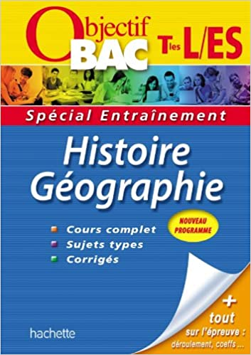 objectif bac - entrainement - histoire-geographie terminales es/l (French) Hardcover
