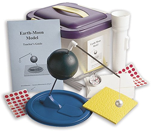 Delta Education 110-5103 Earth-Moon Model Kit