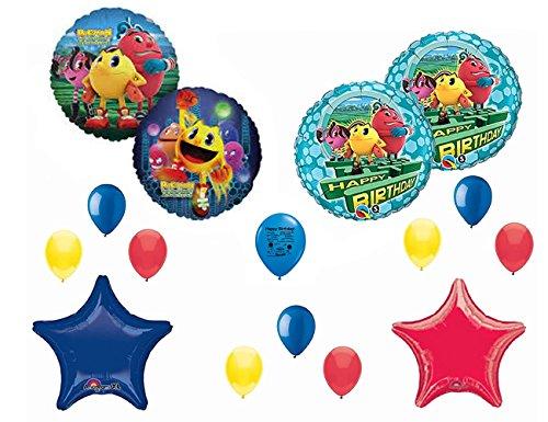 UPC 741271391441, Pac-Man Happy Birthday Balloon Decoration Kit