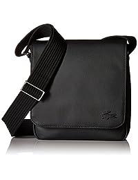 Lacoste - Mochilas de mensajeros,Men S Classic Flap Crossover Bag, Nh2341hc, Hombres