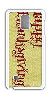 TUTU158600 Hard Plastic and Aluminum Back case for samsung galaxy note 4 for girls - 4458-thanksgiving-day-wallpaper