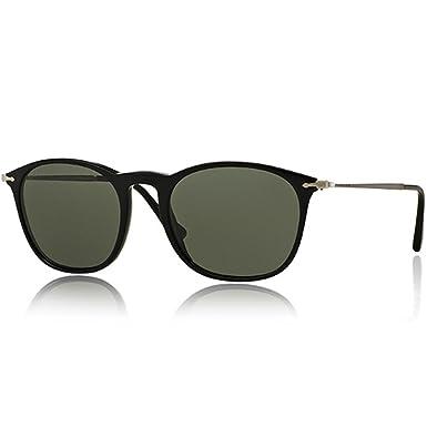 d920f37015de1 Persol Mens Sunglasses (PO3124) Black Green Acetate - Polarized - 50mm