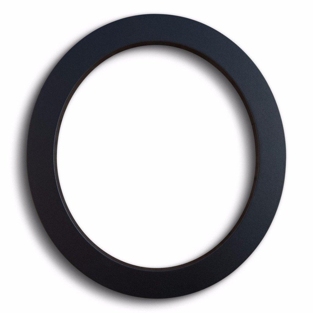 Modern House Number Black Color Aluminum Modern Font Number Zero''0'' 6 inch