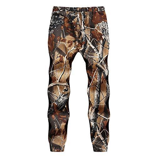 Hiver Electri Pantalons Camouflage Pour Pantalon Automne Jogging Loose homme Sportwear Homme Rouge Camo Sport De Décontractée Cargo 8rSqwdr