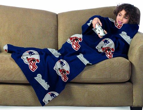 New England Patriots Snuggie Blanket Patriots Blanket