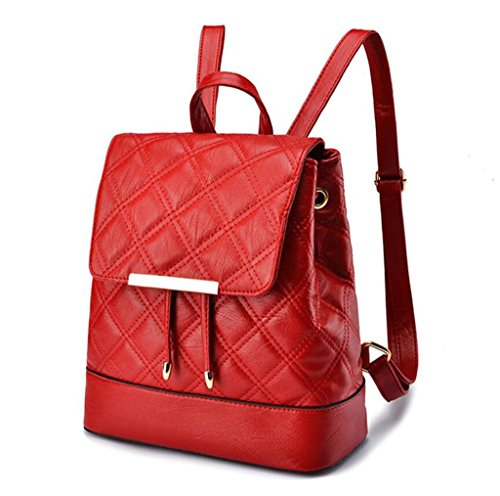 Five Tourism Double Shoulder Bag 26 wine red 26 PU 5cm Girls Leisure Schoolbag colors 13 Shopping Student BeiBao v8pqOdwp