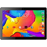 "BENEVE 10.1"" Inch Tablet Android 7.0 Quad CORE Super, 2GB RAM + 16GB ROM, 1.3GHz CPU, Dual Camera, Front 2MP+Rear 5MP, Dual 5G WiFi, BT, HD IPS Screen, Play Store, Netflix Installed,Upgraded"