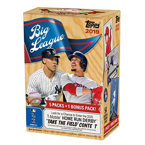 Topps 2019 Big League Baseball Retail Value Box