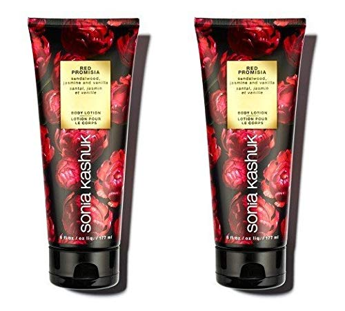 Sonia Kashuk Red Promisia Body Lotion 6 Oz. (Pack Of 2)