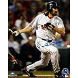 MLB Johnny Damon 2004 World Series Game 4 HR Autographed 8-by-10-Inch Photograph