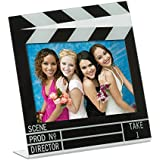 "Acrylic Movie Clapboard Photo Frame (6"" x 4"")"
